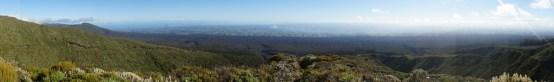 Panorama über die Region