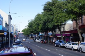 Straße in New Plymouth