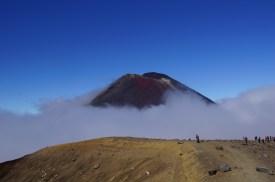 auch der Mt. Ngauruhoe kam mal zum Vorschein