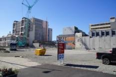 Baustelle in Christchurch