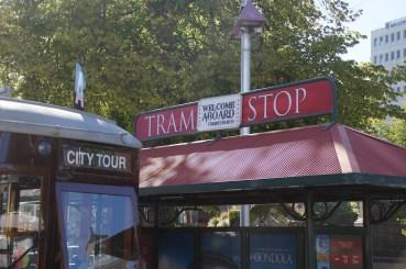 Sightseeing mit der Tram
