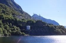 Wasserkraftwerk von außen