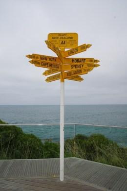 Bluff, das südlichste Städtchen Neuseelands