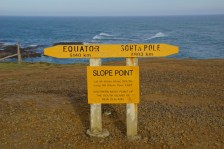 Slope Point, der südlichste Punkt auf der Südinsel von Neuseeland