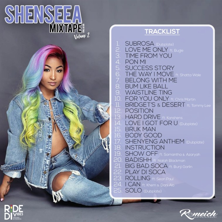 SHENSEEA OFFICIAL MIXTAPE VOLUME 2 1
