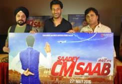 Teaser of Punjabi Film 'Saadey CM Saab' launched