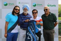 Vikrant, Col. Brar & Binny corner glory in Fortis Healthy Heart Golf tournament