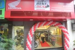 Honda 2Wheeler inaugurates its landmark 100th 'Best Deal'
