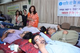 State Bank of India Organizes Blood Donation Camp