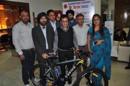 5th Edition of Chandigarh Cyclothon on 27th, North end of Janmarg chosen for route