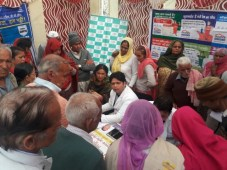 120 attend Free Mega Health Camp by Max Super Specialty Hospital in Shimla