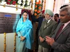 Union Minister Mrs. Harsimrat Kaur Badal inaugurated the Modern Dairy and Ice cream unit of Verka