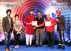 Videocon Connect Conducts 'Young Manch 4' Auditions at Omaxe Mall