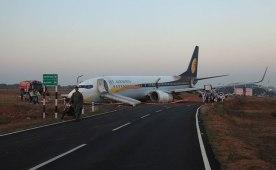 Jet Airways Flight Veers Off Goa's Dabolim Airport Runway