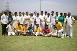 T20 match played between Haryana Journalist Sports Club and Intelligence Bureau