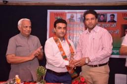 Sanjay Sethi, Director, The British School, Panchkula joins BJP