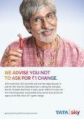 Tata Sky's campaign sends Legend Big B hunting for one Rupee change