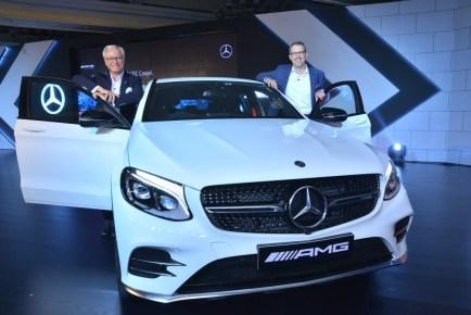 Mercedes-Benz India celebrates #50YearsofAMG, launch of Mercedes-AMG GLC 43 Coupe