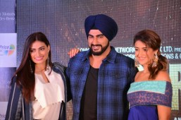 Arjun Kapoor unveiled Jatt Jaguar song from the film Mubarkan at Chandigarh
