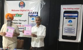 The Electronic Toll Collection (ETC) facility App Fastag Loadlink.in launched