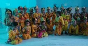 Krishna Janmashtmi Celebrated in Genius World