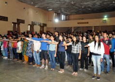 Pledge for National Swachhata Mission at DAV College