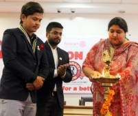 Installation Ceremony of Rotaract Club 2017-18 at GJIMT