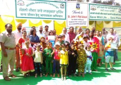 'Award of Honour' to Genius World,Play  School, Zirakpur