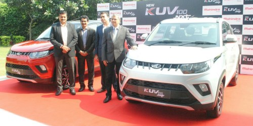 Mahindra presents The New KUV100 NXT