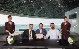 Louvre Abu Dhabi signs landmark partnership with Etihad Airways