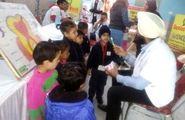 Free Dental Check-up and Awareness Camp in Genius World,  Play School, Zirakpur