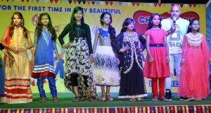 Children put up an impressive ramp show at Chandigarh Fun Carnival