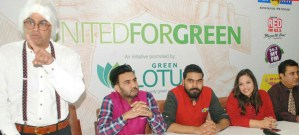 Green Lotus Avenue & Radio Stations of tricity join hands to promote Environmental Awareness