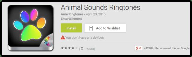Animal Sounds Ringtones