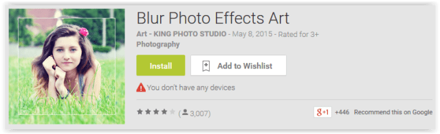 Blur Photo Effects Art