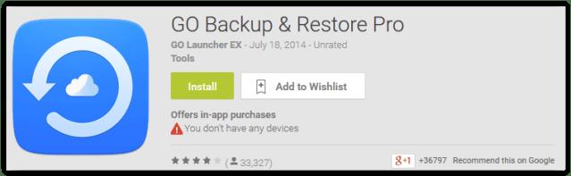Go Backup & Restore Pro