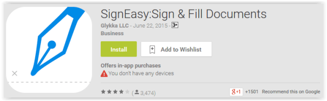 SignEasy,Sign & Fill Documents