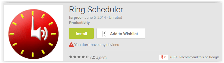 Ring Scheduler