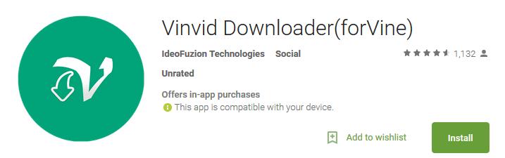 Vinvid Downloader(forVine)