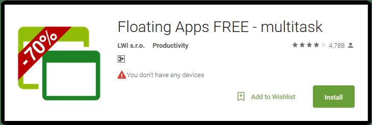 Floating Apps FREE - multitask