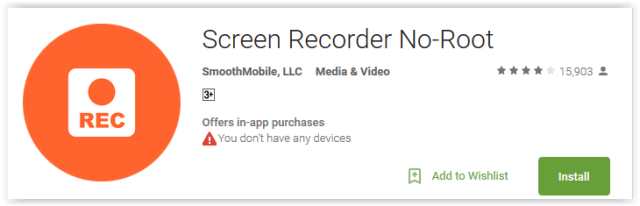 Screen Recorder No-Root