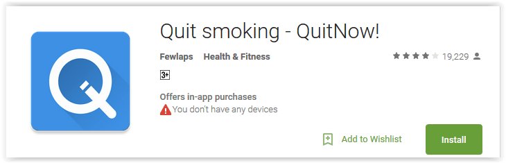 Quit smoking - QuitNow!