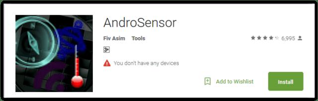 AndroSensor