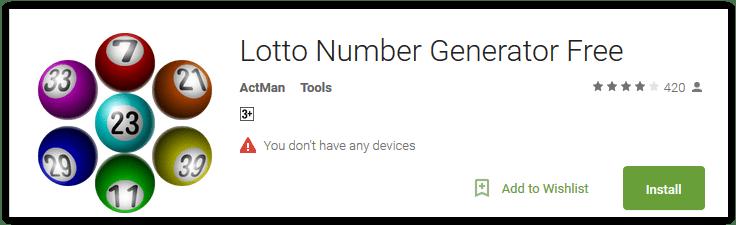 keno generator