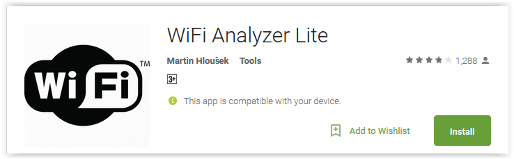 WiFi Analyzer Lite
