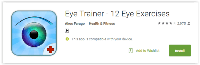 Eye Trainer - 12 Eye Exercises
