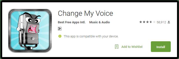 Change My Voice