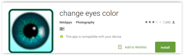 change eyes color