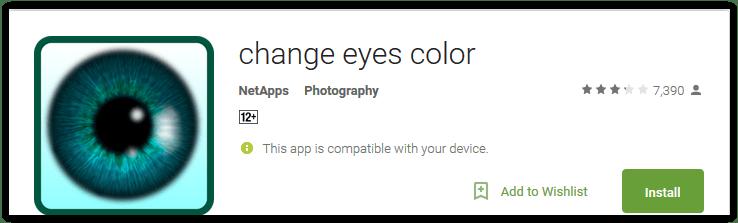 change eyes color