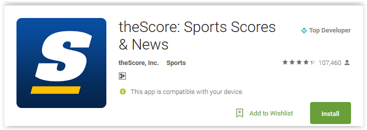 theScore Sports Scores & News